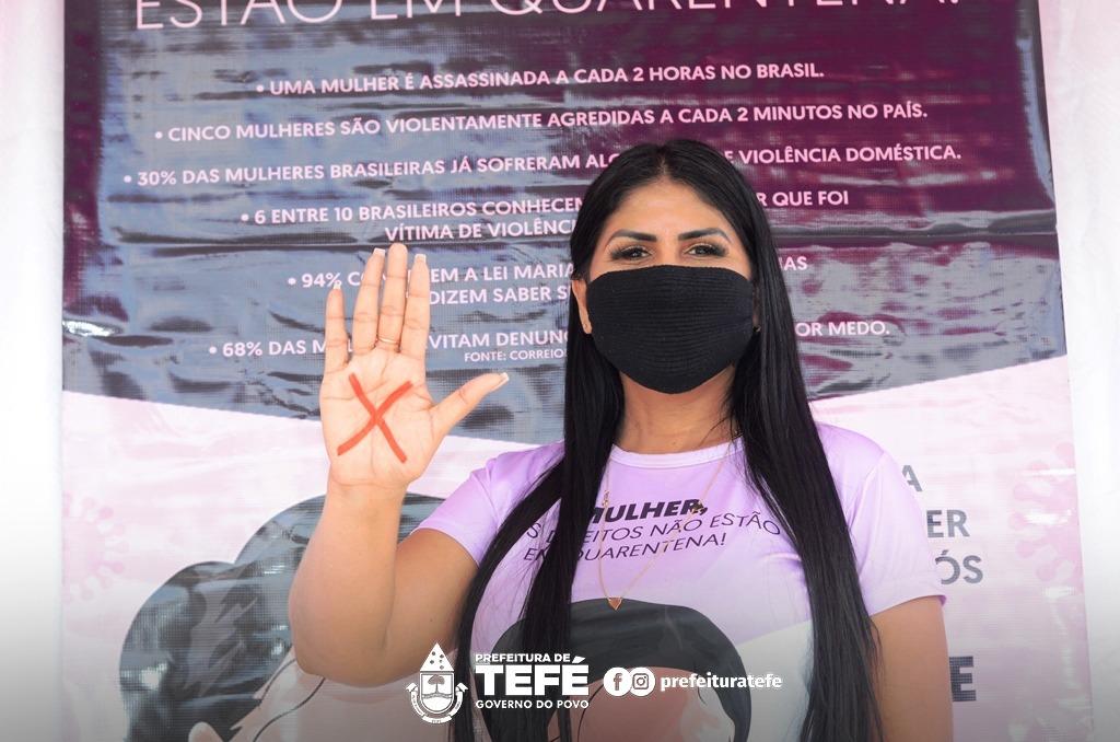 """Prefeitura de Tefé comemora 15 anos da Lei Maria da Penha com lançamento do """"Agosto Lilás"""""""